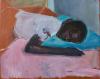 Babe, oil on canvas, 40 x 49 cm, 2020