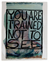 YOU ARE TRAINED NOT TO SEE  (Kit Brown/Rosy Lamb)